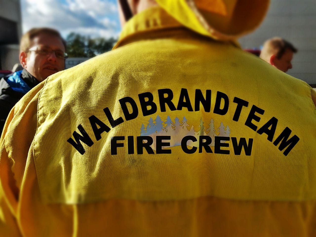 Waldbrandteam-Shirt